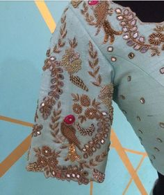 Great embroidery - #blouse