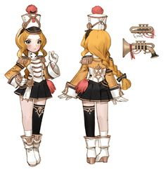Character Costumes, Game Character, Character Concept, Chibi Characters, Female Characters, 7 Knight, Rwby Oc, Korean Anime, Game Concept Art