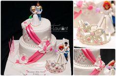 Gâteau Princesse, aux allures mariage  www.simplementst-laurent.com