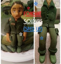 FONDANT SOLDIERS | CAKECESSORIES