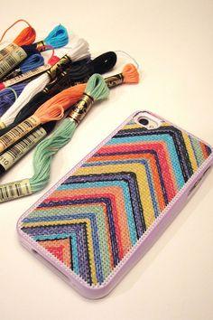 iPhone cross-stitch inspiration