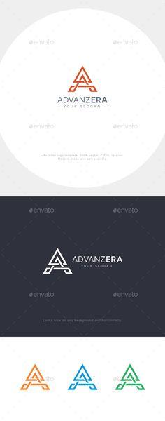 A Letter Logo Template Vector EPS, AI Illustrator. Download here: https://graphicriver.net/item/a-letter-logo/17644634?ref=ksioks