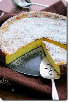Migliaccio napolitain (gâteau de semoule à la ricotta et limoncello)                                                                                                                                                                                 Plus