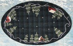 Wool Applique Patterns Kits and Supplies The Woolen Needle