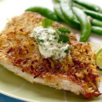 Coconut-crusted Red Snapper Recipe
