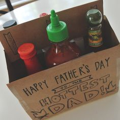 Happy Father's Day   Little Baby Garvin Fun Father's Day idea- breakfast burritos and hot sauce!
