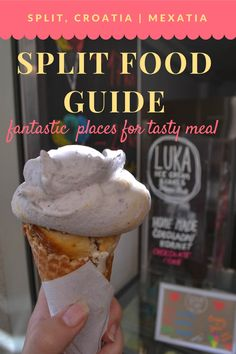 Split Food Guide: Fantastic places for a tasty meal. Trust us, in Split you will definitely not be hungry!  Follow the link to find our more or pin it for later.  http://mexatia.com/split-food-guide/