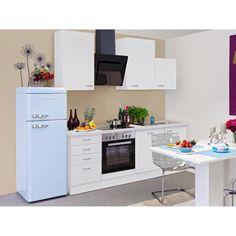 Flex Well Classic Küchenzeile Wito 220 Cm Weiß. Klein Aber Fein!