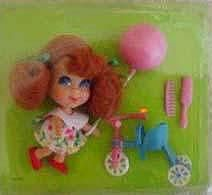 """I distinctly remember playing with """"Trikey Triddle"""" - one of the Liddle Kiddle dolls I had (ca 1967)...loved them!"""
