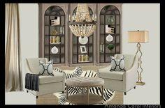 Neutral design board by Amanda Carol at Home