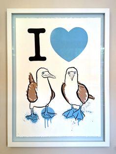 'I Love' Silkscreen Print by Neville Godwin 2013 Grayson Perry, Silk Screen Printing, Poster On, Medium Art, Prints For Sale, Weaving, My Love, Artist, Artwork