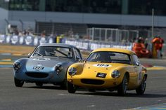 1960 Austin-Healey Sebring Sprite and 1961 Lotus Elite