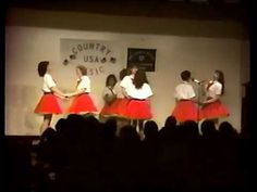 Braxton County Cloggers WV - County Music USA Ohio 1990 Part 16