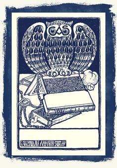 La Bande des Faineantes: Vintage Printable Ex libris , cap . 2