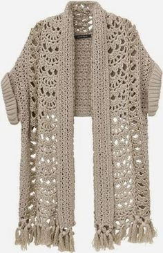 Irish crochet &: Жакет
