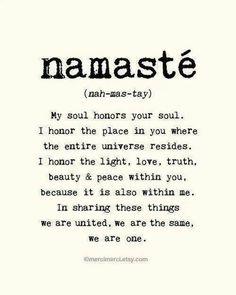 Namaste. #namaste, #namaste meaning