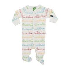 Baby Sleepsuit With Feet - Figureline