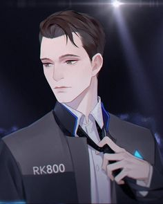 Detroit become human Connor By: Reloon0427
