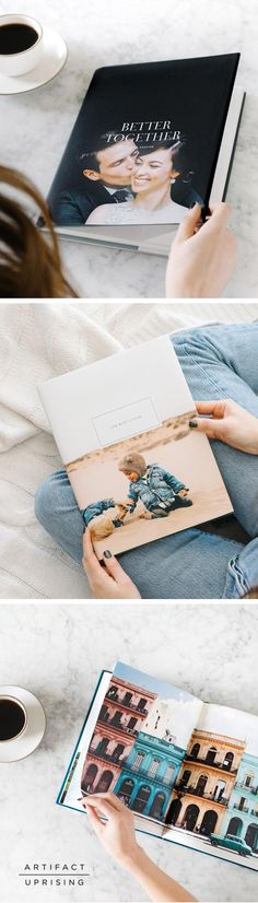 Your coffee table will thank you. The Hardcover Photo Book from @artifactuprsng features high quality finishes with 8 unique fabric colors to choose from. Just add your photos to make it your own.