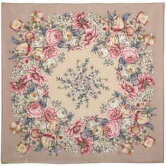 Pride And Glory, Silk Shawl, Scarf Design, Floral Scarf, Silk Scarves, Flower Art, Textile Prints, Vintage Paper, Mandala