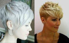 Vibrant Layered Pixie Haircuts