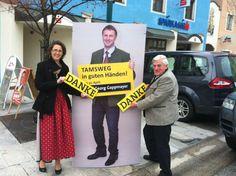 Tamsweg: BGF Martina Schreilechner und Seniorenbundobmann Rupert Schüssleder freuen sich über das Wahlergebnis