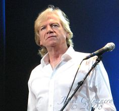 *Justin Hayward* The Moody Blues. This must have been the same year my daughter and I had front row seats!