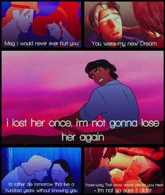 disney men ♥ ...they don't exist in real life.