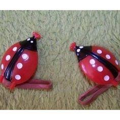 Socialism, Czech Republic, 3, Ladybug, Old Things, Childhood, Memories, Ceramics, Christmas Ornaments