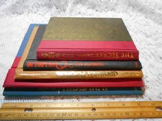 Vintage Book Covers Lot of 5, COVERS ONLY, Journal Book Making, Scrapbooking Crafts Art Supply, Hardcover Book Boards 4 Smash Junk Journals by Dare2beUNIQUE on Etsy Scrapbook Paper Crafts, Scrapbook Supplies, Scrapbooking, Journal Covers, Book Journal, Journals, Vintage Book Covers, Vintage Books, Orange Paper