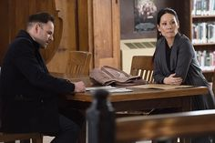 Elementary season 3 episode 19 Sherlock and Joan at the library