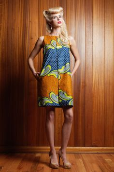 NeoBantu is a new Dallas-based ready-to-wear label that incorporates 'African Finesse with western Flair'.