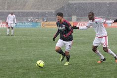 When else has bad weather meddled with Revolution games?