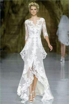 Pronovias gown via Wedding Chicks on Facebook