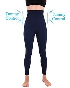 be07668b08e  Unique Yoga Leggings  Homma Activewear Thick High Waist Tummy Compression  Slimming Body Leggings Pant (Large