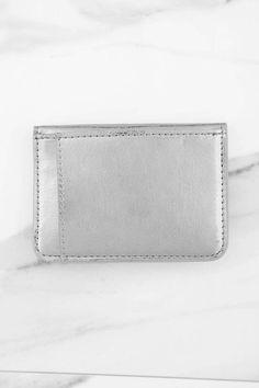 Handbags, Silver, Fifi Wallet