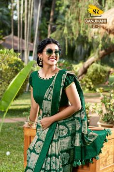 Surat Textile Hub Sr sarees presents sanjivani pure Dola silk printed traditional wear silk sarees catalog wholesaler Cotton Saree Blouse Designs, Fancy Blouse Designs, Bridal Blouse Designs, Blouse Patterns, Kurta Neck Design, Stylish Blouse Design, Kurti Designs Party Wear, Silk Sarees, Catalog