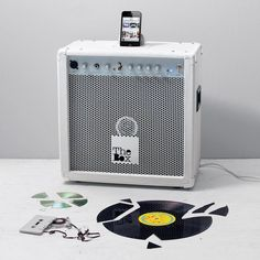 The Box Amplifier by Seletti