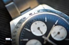 Historical Perspectives: The Very First Rolex Daytona, Explained (Or, What Is A Double-Swiss Underline Daytona?) - HODINKEE Daytona Watch, Rolex Daytona, Breitling, Rolex Watches, Perspective, Perspective Photography, Point Of View