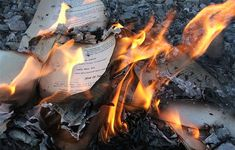 Just like America's Republican party, ISIS attempting to stamp out education. ISIS Burns 8000 Rare Books and Manuscripts in Mosul. Ignorance is winning, people! If you really want to be a rebel, read some books and put some knowledge in your heads. These Broken Stars, Eliza Schuyler, Book Burning, Fahrenheit 451, The Book Thief, A Series Of Unfortunate Events, Fullmetal Alchemist, Storytelling, Burns