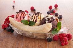 Banana Split Te enseñamos a cocinar recetas fáciles cómo la receta de Banana Split y muchas otras recetas de cocina..