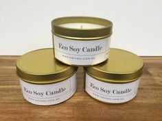 Scented eco soy candles - Travel tin    Handmade and poured with natural eco soy wax and high quality natural  fragance oils by Velvety in Victoria, Australia.  These tins are perfect for travelling and taking with you everywhere but  also to beautify any space in your home.They are the perfect gift and the  perfect treat.      * Choose between 10 different scents and delight yourself.      * BURN TIME:Approximately 35 hours. 100% cruelty free.        * SHIPPING INFORMATION      * EMAIL…