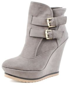 50+ Wedge Boots ideas   wedge boots