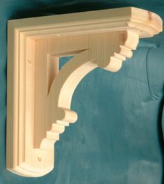 Decorative Shelf Brackets | Large Decorative Wooden Shelf Brackets x 2 | eBay