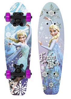 7fc0904169 PlayWheels Disney Frozen 21 Wood Cruiser Skateboard Frozen Heart Graphic      Check out this great product.