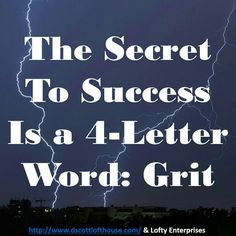 What is the secret of success? Is it IQ, social intelligence, education, good looks or talent? No. It's likely the ability to hold passion and perseverance for very long term goals. In short, the secret is four letters and it's: grit. #followme #repost #makemoneyonline #successwithme #lifestyle