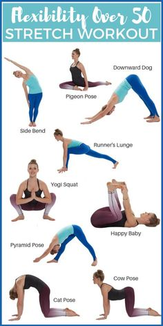 How To Regain Flexibility Over 50 Get Healthy U is part of Yoga routine - Aging comes with a whole host of unpleasant issues Use these tips & stretches to regain flexibility over 50 & start feeling like your younger self again! Yoga Fitness, Fitness Workouts, Health Fitness, Senior Fitness, Fitness Diet, Mens Fitness, Free Fitness, Yoga Workouts, Fitness Gear