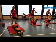 Fysiek blok meisjes B Handbalschool Brabant 16-1-2016 - YouTube Ladder Workout, Crossfit Kids, Volleyball Drills, Physical Education Games, Excercise, Cardio, Health Fitness, Sports, Youtube