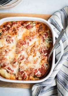 These Greens and Mushroom Stuffed Shells Are the Perfect Freezer Meal