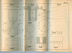 1894 Mechanical Drawing Book for MIT students by BlackSheepYarns. , via Etsy.